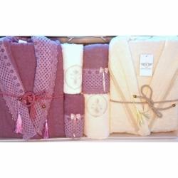 Cotton Box Emboss Bebek Battaniye Pembe