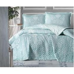 Cotton Box Mode Line Tek Kişilik Pamuklu Ranforce Uyku Seti Vitale Bej