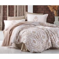 Cotton Box Tek Kişilik Maritime Pamuklu Uyku Seti Arma Lacivert