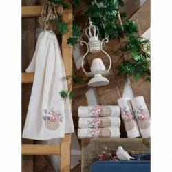 Cotton Box Çift Kişilik Pamuklu Ranforce Uyku Seti Lida Bej