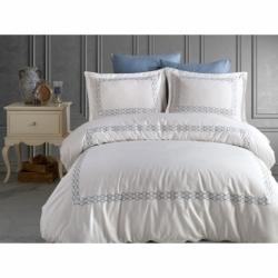 Cotton Box Çift Kişilik Pamuklu Ranforce Uyku Seti İris Pembe