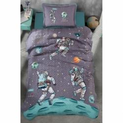 Cotton Box Çift Kişilik Royal Saten Uyku Seti Azra Bordo