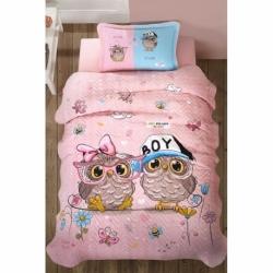 Cotton Box Çift Kişilik Royal Saten Uyku Seti Pera Lacivert