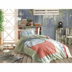 Cotton Box Tek Kişilik Pamuklu Ranforce Uyku Seti Megan Bej