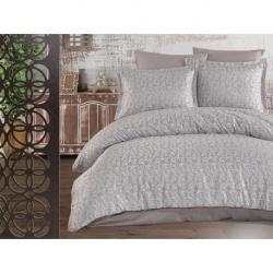 Cotton Box Nakışlı Aile Bornoz Seti Krem Krem
