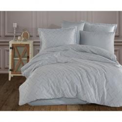 Cotton Box M Beden Nakışlı Erkek Bornoz Daily Toprak Kahve