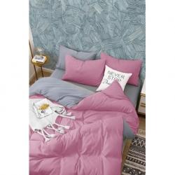 İyi Geceler İstanbul Çift Kişilik Battaniyeli Nevresim Takımı Dior Mavi