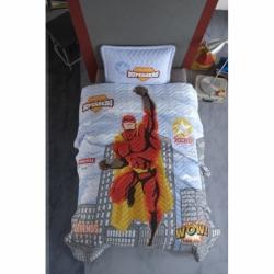 Cotton Box Mode Line Tek Kişilik Pamuklu Ranforce Uyku Seti Grace Mavi